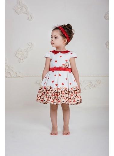 Pamina Elbise Kırmızı